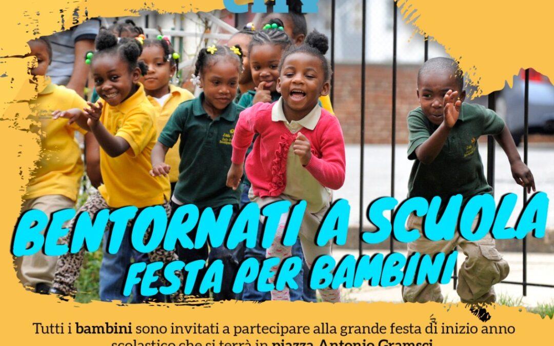 Bentornati a scuola – festa per i bambini