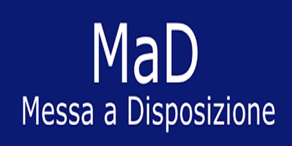 Tempistica per la presentazione delle domande di messa a disposizione (MAD) per eventuale stipula  contratti di lavoro a tempo determinato  a.s. 2020/21